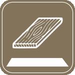 Podłoga lita / Solid floor
